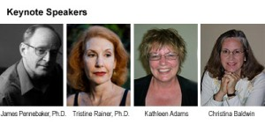Four leading journalers at the 2008 Power of Writing Conference