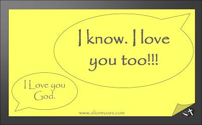@Prayerjourney 8 I love you God